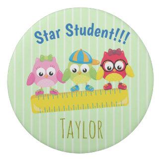 My Star Student Cool Owls Eraser