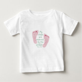 My Steps are Ordered by the Lord Baby T-Shirt