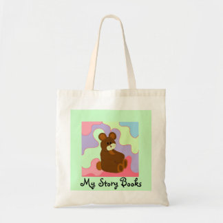 My Story Books Budget Tote Bag