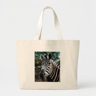 My  Strippy Friend Large Tote Bag