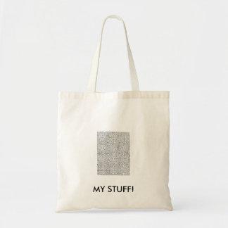 """""""MY STUFF!"""" Bag"""