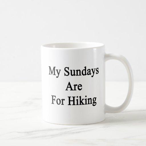 My Sundays Are For Hiking Mug