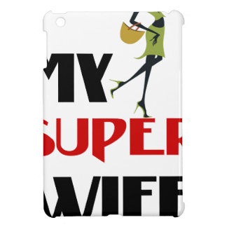 my super wife iPad mini covers