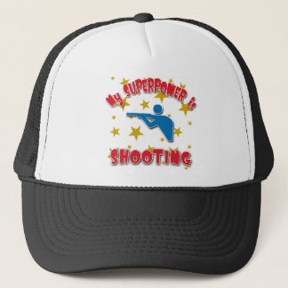 My Superpower is Shooting Trucker Hat