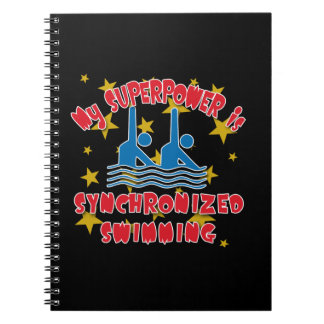 My Superpower is Synchronized Swimming Notebook