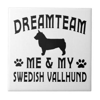 My Swedish Vallhund Dog Ceramic Tiles