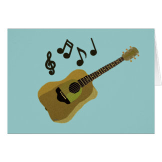 My Sweet Guitar Card