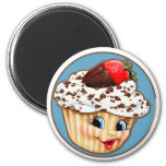 My Sweet Little Cupcake 6 Cm Round Magnet
