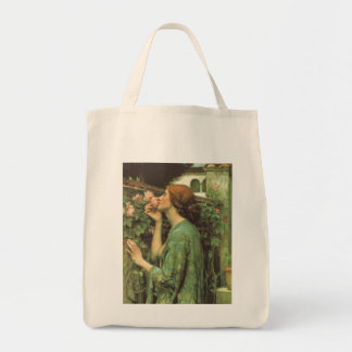 My Sweet Rose, or Soul of the Rose by Waterhouse Grocery Tote Bag
