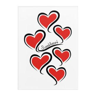 My Sweetheart Valentine Acrylic Print