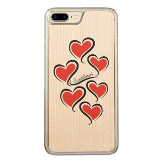 My Sweetheart Valentine Carved iPhone 8 Plus/7 Plus Case