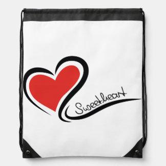 My Sweetheart Valentine Drawstring Bag