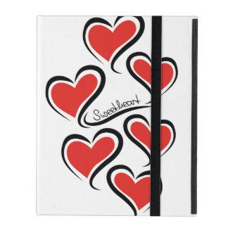 My Sweetheart Valentine iPad Folio Cover