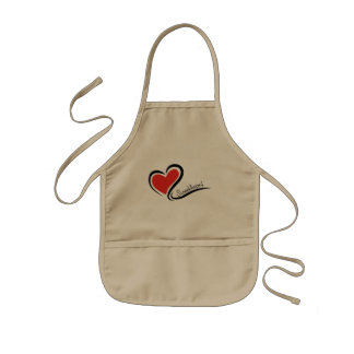 My Sweetheart Valentine Kids Apron