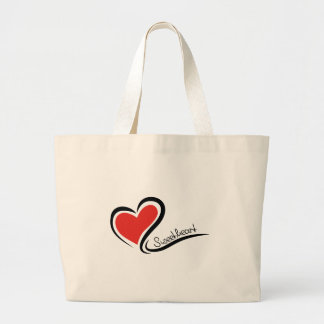 My Sweetheart Valentine Large Tote Bag