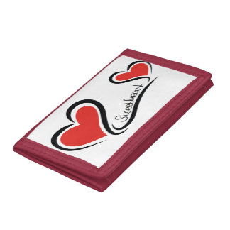 My Sweetheart Valentine Tri-fold Wallets
