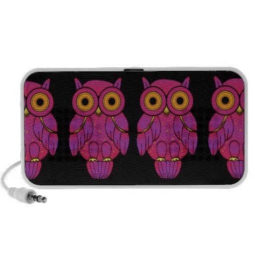 My$t Owl Doodle Speakers