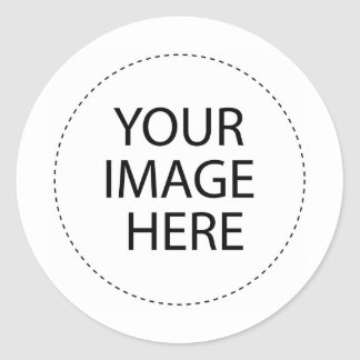 MY T-SHIRT 24 CLASSIC ROUND STICKER