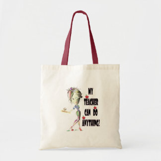 My Teacher can do Anything! Best Teacher Gifts Budget Tote Bag