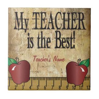 My Teacher is the Best Tile