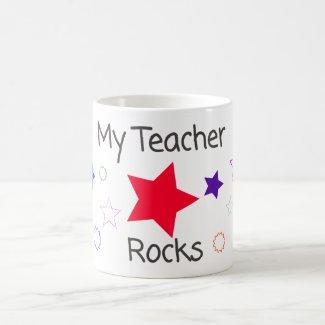 My Teacher Rocks Mug