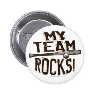 My Team Rocks Button