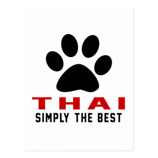 My Thai Simply The Best Postcard