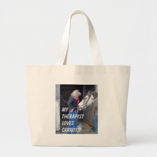 My Therapist Loves Carrots! Canvas Bag