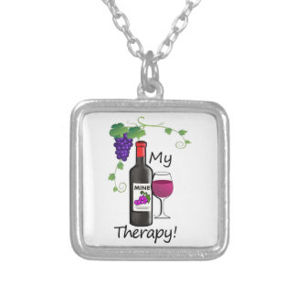 My Therapy Silver Plated Necklace
