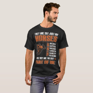 My Thoroughbred And They Are Best Part Of Me Shirt