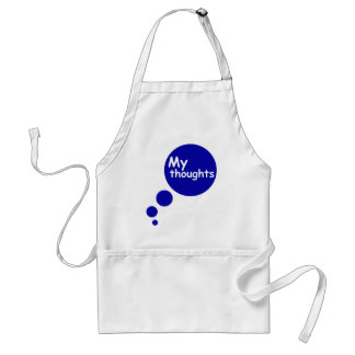 My Thoughts Aprons