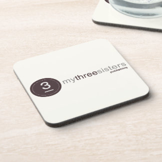 My Three Sisters Logo Mousepad - neutral Coaster