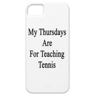 My Thursdays Are For Teaching Tennis iPhone 5 Case