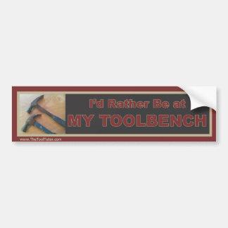My Toolbench Bumper Sticker