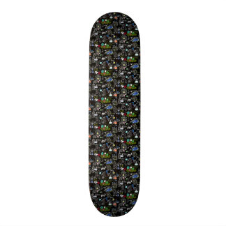 My town 19.7 cm skateboard deck