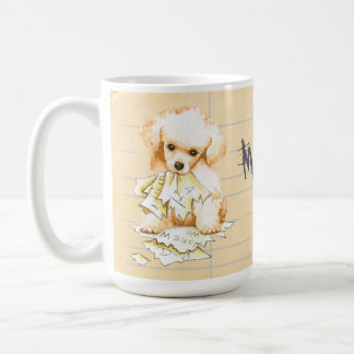My Toy Poodle Ate my Homework Coffee Mug