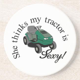 My Tractors Sexy Beverage Coasters