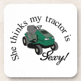 My Tractors Sexy Drink Coaster