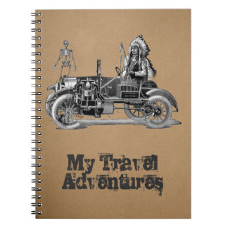 My travel adventures spiral note book