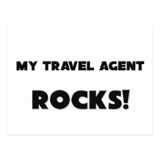 MY Travel Agent ROCKS! Postcard