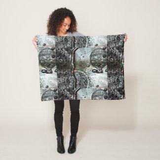 My Travels by Carol Zeock Fleece Blanket