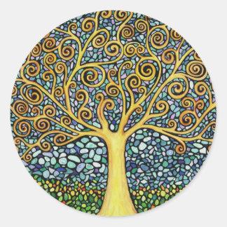My Tree of Life Classic Round Sticker