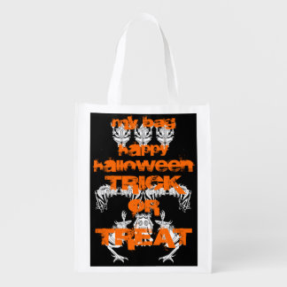 My Trick or Treat Bag Reusable Grocery Bags
