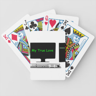 My True Love- My Computer Bicycle Playing Cards