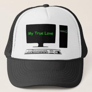 My True Love- My Computer Trucker Hat