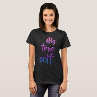 My True Self Transgender Pride T-Shirt