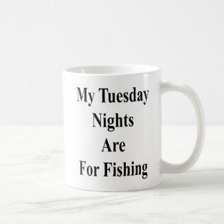 My Tuesday Nights Are For Fishing Coffee Mug