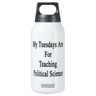 My Tuesdays Are For Teaching Political Science 0.3L Insulated SIGG Thermos Water Bottle