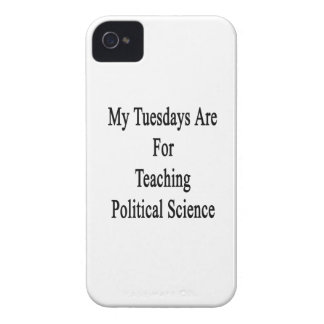 My Tuesdays Are For Teaching Political Science Case-Mate iPhone 4 Cases