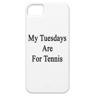 My Tuesdays Are For Tennis iPhone 5 Covers